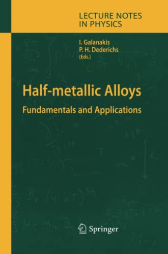 Half-metallic Alloys: Fundamentals and Applications (Lecture Notes in Physics): Springer