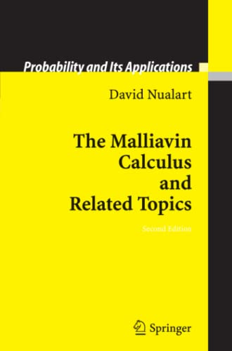 9783642066511: The Malliavin Calculus and Related Topics (Probability and Its Applications)