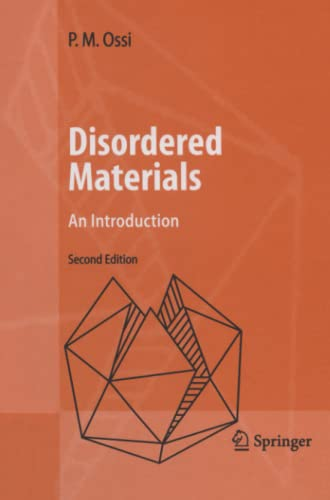 9783642067389: Disordered Materials: An Introduction
