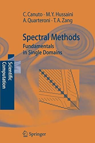 9783642068003: Spectral Methods: Fundamentals in Single Domains (Scientific Computation)