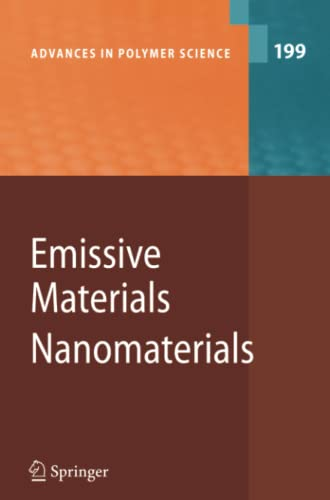 9783642068379: Emissive Materials - Nanomaterials (Advances in Polymer Science)