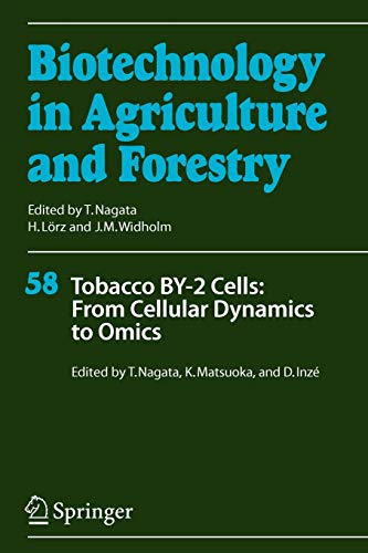 Tobacco BY-2 Cells From Cellular Dynamics to Omics Biotechnology in Agriculture and Forestry