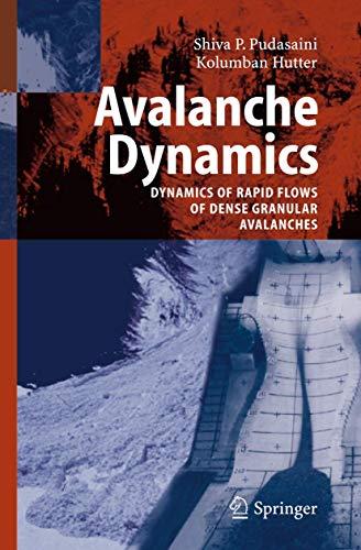9783642069192: Avalanche Dynamics: Dynamics of Rapid Flows of Dense Granular Avalanches