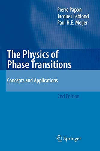 9783642070020: The Physics of Phase Transitions: Concepts and Applications