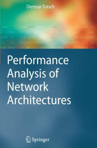 9783642070679: Performance Analysis of Network Architectures