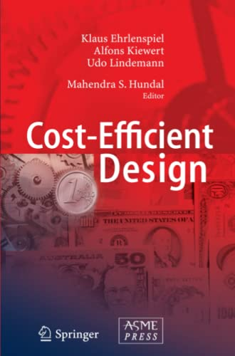 9783642071003: Cost-Efficient Design