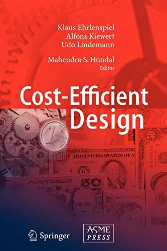 Cost-Efficient Design: Hundal, Mahendra S.