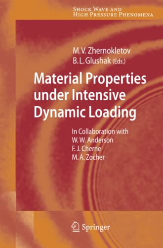 Material Properties under Intensive Dynamic Loading (Shock Wave and High Pressure Phenomena): ...