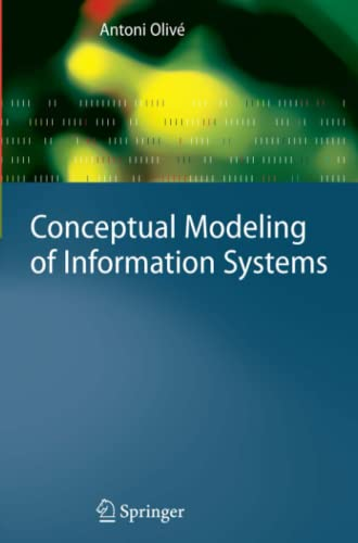 9783642072567: Conceptual Modeling of Information Systems