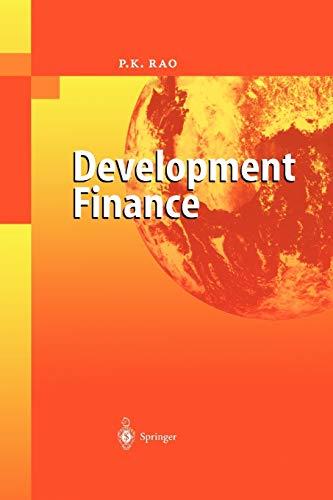 9783642072772: Development Finance