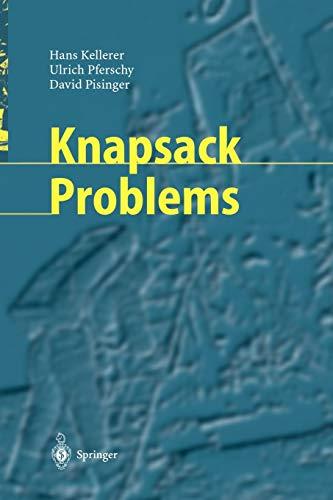 9783642073113: Knapsack Problems