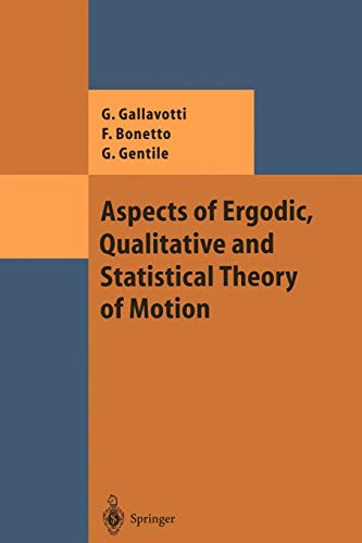 9783642074165: Aspects of Ergodic, Qualitative and Statistical Theory of Motion (Theoretical and Mathematical Physics)