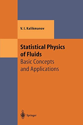 9783642075117: Statistical Physics of Fluids: Basic Concepts and Applications (Theoretical and Mathematical Physics)