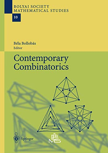 9783642076602: Contemporary Combinatorics (Bolyai Society Mathematical Studies)