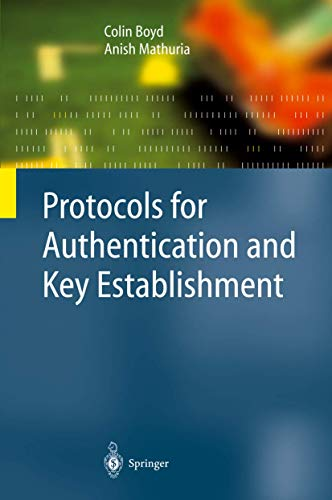 9783642077166: Protocols for Authentication and Key Establishment (Information Security and Cryptography)