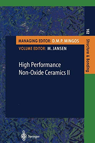 High Performance Non-Oxide Ceramics II (Structure and: Jansen, M. [Editor];