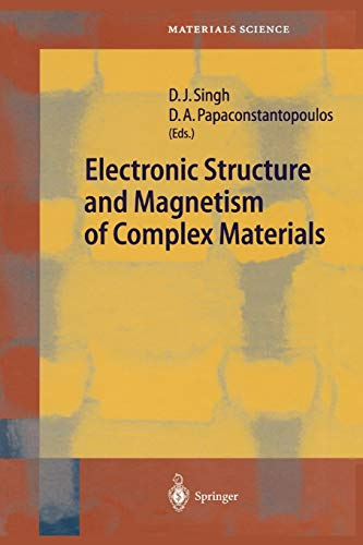 9783642077746: Electronic Structure and Magnetism of Complex Materials (Springer Series in Materials Science)