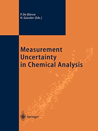 9783642078842: Measurement Uncertainty in Chemical Analysis