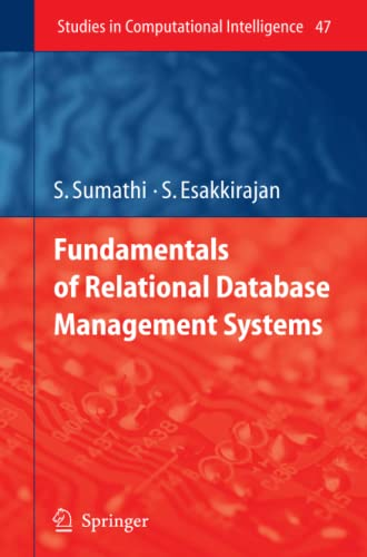9783642080128: Fundamentals of Relational Database Management Systems (Studies in Computational Intelligence)