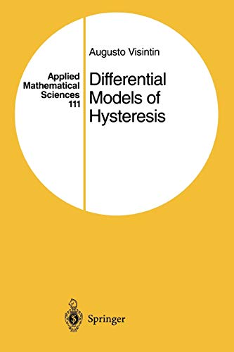 9783642081323: Differential Models of Hysteresis (Applied Mathematical Sciences)