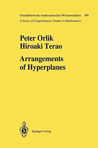 9783642081378: Arrangements of Hyperplanes (Grundlehren der mathematischen Wissenschaften)