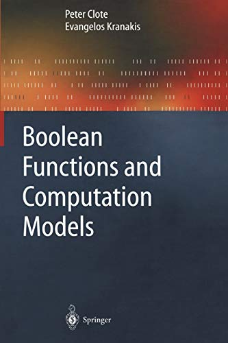 9783642082177: Boolean Functions and Computation Models