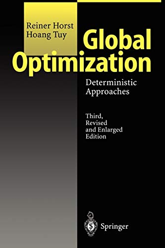 9783642082474: Global Optimization: Deterministic Approaches