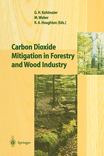9783642083303: Carbon Dioxide Mitigation in Forestry and Wood Industry