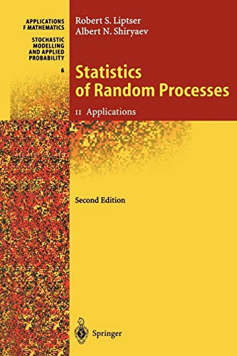9783642083655: Statistics of Random Processes II: Applications (Stochastic Modelling and Applied Probability)