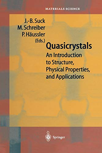 9783642083907: Quasicrystals: An Introduction to Structure, Physical Properties and Applications (Springer Series in Materials Science)