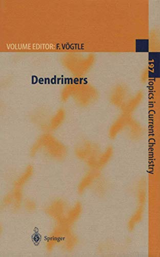 9783642084072: Dendrimers (Topics in Current Chemistry)