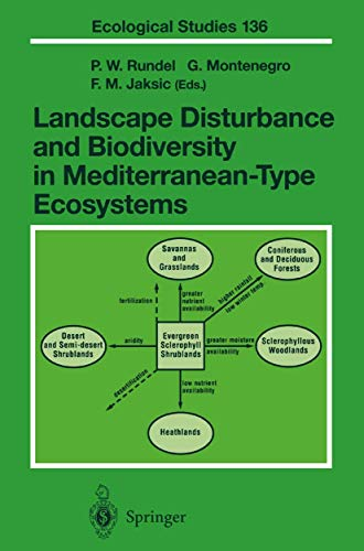 9783642084164: Landscape Disturbance and Biodiversity in Mediterranean-Type Ecosystems (Ecological Studies)