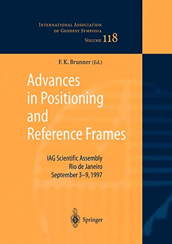 9783642084256: Advances in Positioning and Reference Frames
