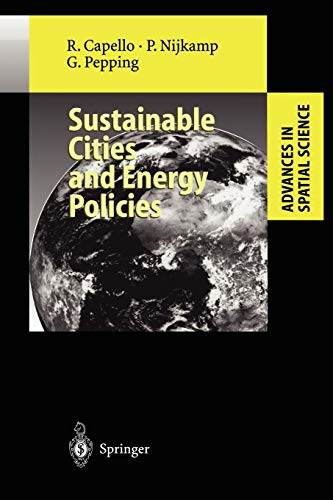 9783642084348: Sustainable Cities and Energy Policies (Advances in Spatial Science)