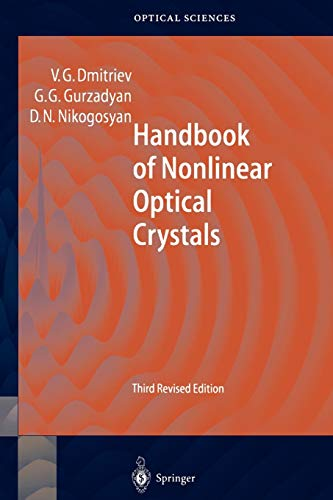 9783642084720: Handbook of Nonlinear Optical Crystals (Springer Series in Optical Sciences)