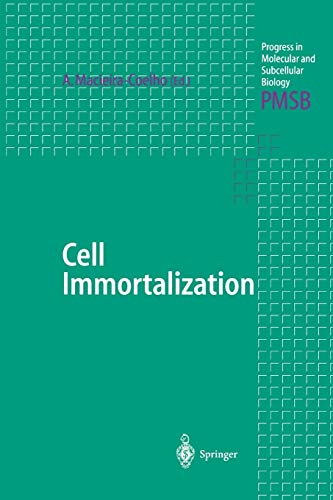 9783642084911: Cell Immortalization (Progress in Molecular and Subcellular Biology)