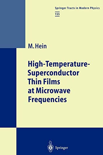 9783642084959: High-Temperature-Superconductor Thin Films at Microwave Frequencies (Springer Tracts in Modern Physics)