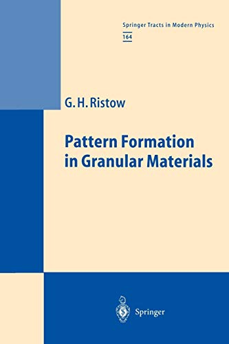 9783642086007: Pattern Formation in Granular Materials (Springer Tracts in Modern Physics)