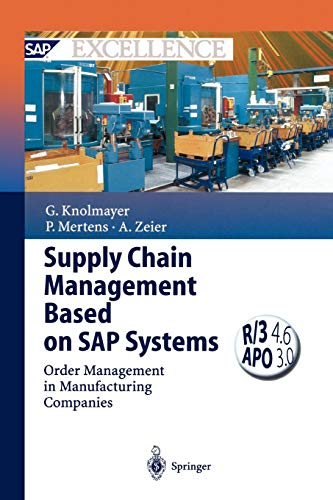 9783642086250: Supply Chain Management Based on SAP Systems: Order Management in Manufacturing Companies (SAP Excellence)