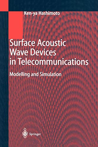 9783642086595: Surface Acoustic Wave Devices in Telecommunications: Modelling and Simulation
