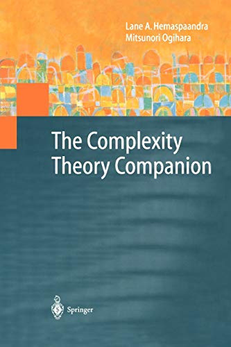9783642086847: The Complexity Theory Companion