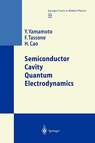 9783642086953: Semiconductor Cavity Quantum Electrodynamics (Springer Tracts in Modern Physics)