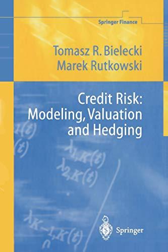 9783642087073: Credit Risk: Modeling, Valuation and Hedging (Springer Finance)