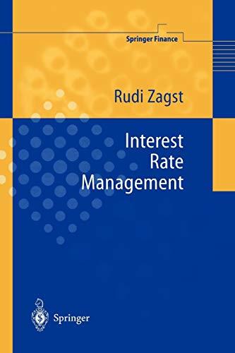 9783642087080: Interest-Rate Management (Springer Finance)