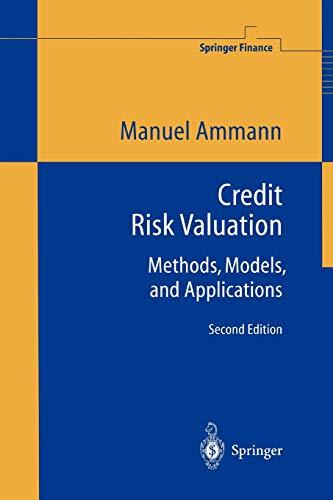 9783642087332: Credit Risk Valuation: Methods, Models, and Applications (Springer Finance)