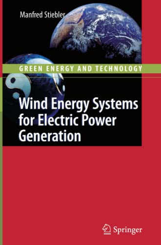 9783642088261: Wind Energy Systems for Electric Power Generation (Green Energy and Technology)