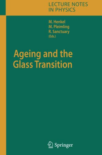 9783642089121: Ageing and the Glass Transition (Lecture Notes in Physics)