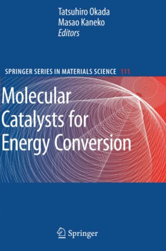9783642089657: Molecular Catalysts for Energy Conversion (Springer Series in Materials Science)