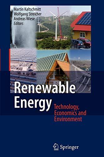 9783642089947: Renewable Energy: Technology, Economics and Environment
