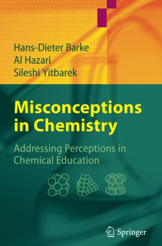9783642090004: Misconceptions in Chemistry: Addressing Perceptions in Chemical Education
